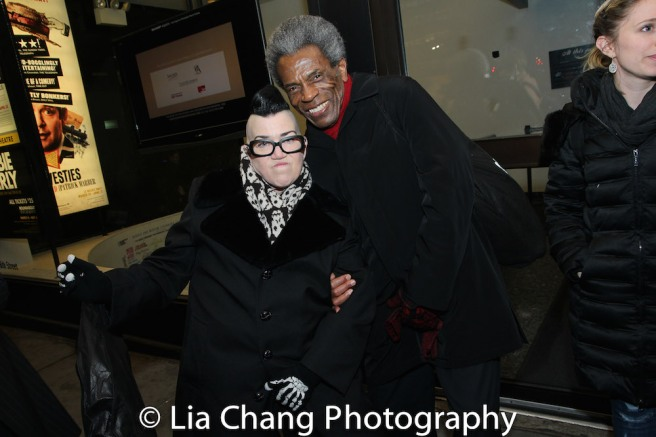 Lea DeLaria and André De Shields. Photo by Lia Chang