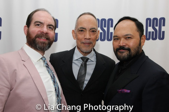 David Michael Garry, Thom Sesma, Orville Mendoza. Photo by Lia Chang