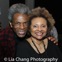 André De Shields and Leslie Uggams. Photo by LIa Chang