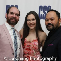 ROAD SHOW reunion - David Michael Garry, Katrina Yaukey and Orville Mendoza. Photo by Lia Chang