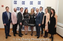 Fred Rose, David Michael Garry, Matthew Deming, Lee Harrington, Jessica Tyler Wright, Bruce Sabath, Benjamin Diskant, Jane Pfitsch and Leenya Rideout. Photo by Lia Chang