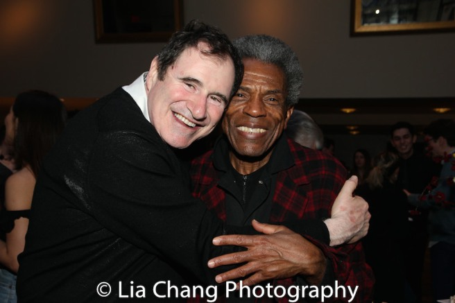 Richard Kind and André De Shields. Photo by Lia Chang
