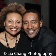 Leslie Uggams and Charles Randolph-Wright. Photo by Lia Chang