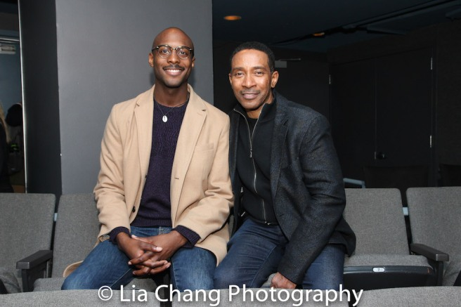 Playwright Jiréh Breon Holder and Director Charles Randolph-Wright. Photo by Lia Chang