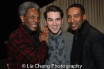 André De Shields, Travis Navarra and Charles Randolph-Wright. Photo by Lia Chang