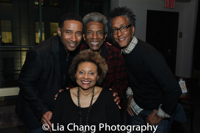 Leslie Uggams, Charles Randolph-Wright, André De Shields, Andre Royo. Photo by Lia Chang