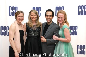 Jane Pfitsch, Jessica Tyler Wright, George Abud and Megan Loomis. Photo by Lia Chang