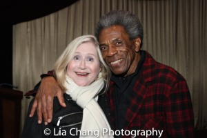 Lindsey Cashman and André De Shields. Photo by Lia Chang