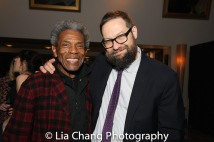 André De Shields and Mark Armstrong, Executive Director, The 24 Hour Plays Off-Broadway. Photo by Lia Chang