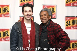 Kevin Kantor and André De Shields. Photo by Lia Chang