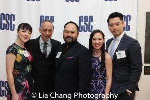 Megan Masako Haley, Thom Sesma, Orville Mendoza, Kimmy Immanuel and Karl Josef Co. Photo by Lia Chang