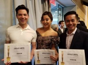 Jason Tam, Ashley Park, Steven Eng.