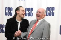 Jordan Roth and John Doyle. Photo by Lia Chang