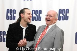Jordan Roth and John Doyle. Photo by Lia Chang
