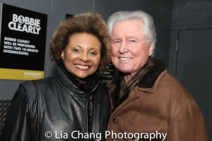 Leslie Uggams, Grahame Pratt. Photo by Lia Chang