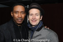 Charles Randolph-Wright and Denis O'Hare. Photo by Lia Chang