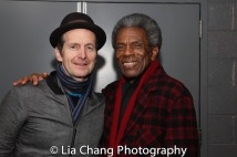 Denise O'Hare and André De Shields. Photo by Lia Chang