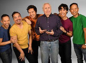 Jon Norman Schneider, Evan D'Angeles, Kevin Shen, Chris Bloch, Rafael Sebastian, and Ariel Felix. Photo by Stan Barouh