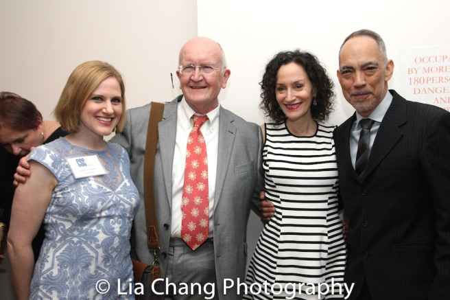 Amy Justman, John Doyle, Barbara Walsh and Thom Sesma. Photo by Lia Chang