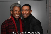 André De Shields and Charles Randolph-Wright. Photo by Lia Chang