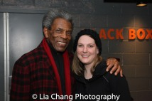 André De Shields and Rachel Winfield. Photo by Lia Chang