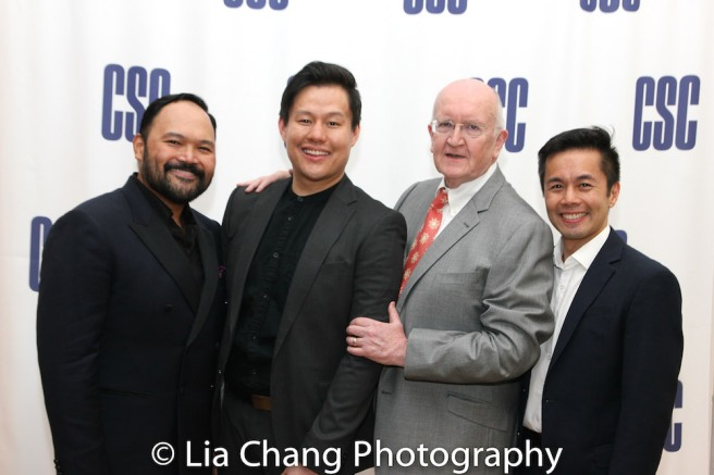 Orville Mendoza, Kelvin Moon Loh, John Doyle and Steven Eng. Photo by Lia Chang