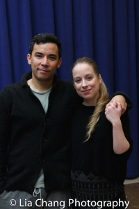 Conrad Ricamora and Alyse Alan Louis. Photo by Lia Chang