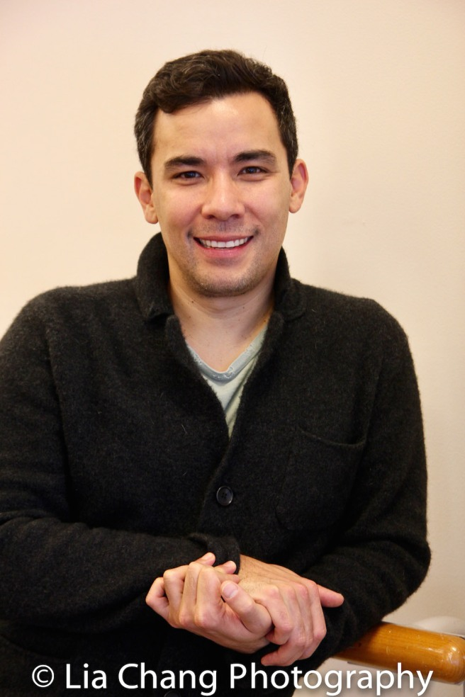 Conrad Ricamora. Photo by Lia Chang