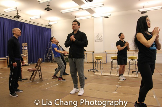 Francis Jue, Paul HeeSang Miller, Billy Bustamante, Conrad Ricamora, Paul HeeSang Miller, Kristen Faith Oei. Photo by Lia Chang