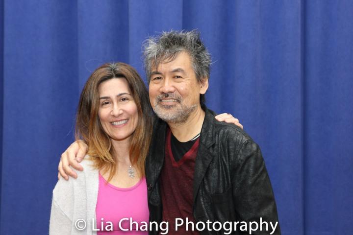 Jeanine Tesori and David Henry Hwang. Photo by Lia Chang