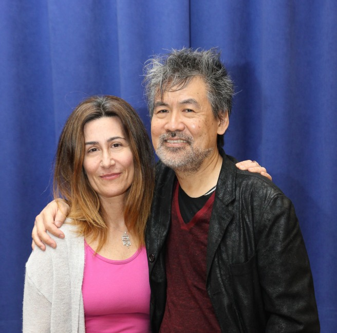 Jeanine Tesori and David Henry Hwang. Photo by Lia Chang