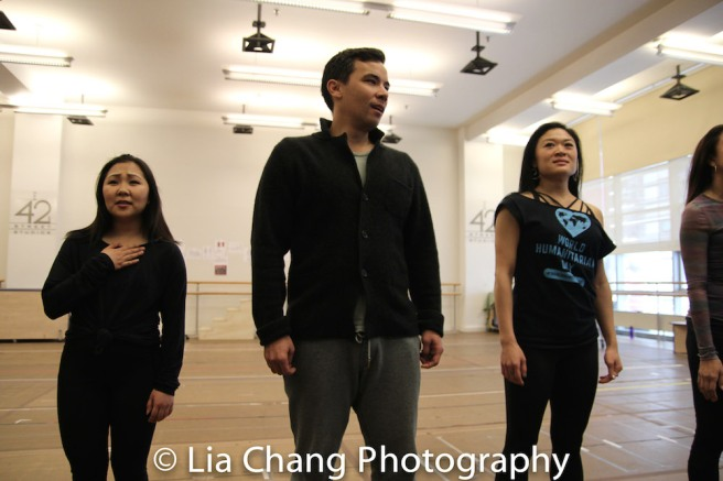 Kendyl Ito, Conrad Ricamora and Kristen Faith Oei. Photo by Lia Chang