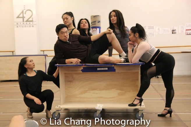 Kendyl Ito, Kristen Faith Oei, Raymond J. Lee, Maria-Christina Oliveras, Jaygee Macapugay, Geena Quintos. Photo by Lia Chang
