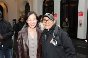 Lia Chang and Jojo Gonzalez. Photo by Garth Kravits