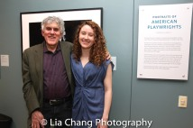 Mike Folie and Bronwen Sharp. Photo by Lia Chang