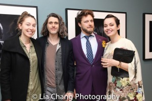 Mona Pirnot, Lucas Hnath, Benjamin Scheuer, Jemima Williams. Photo by Lia Chang