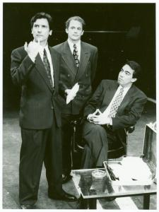 Billy Rose Theatre Division, The New York Public Library. (1992). Production still, including Griffin Dunne, Keith Szarabajka, Thom Sesma Retrieved from http://digitalcollections.nypl.org/items/510d47e3-fb5e-a3d9-e040-e00a18064a99