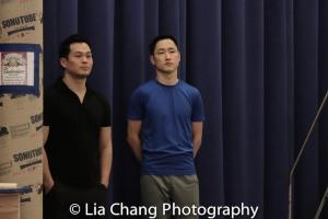 Paul HeeSang Miller and Daniel May. Photo by Lia Chang