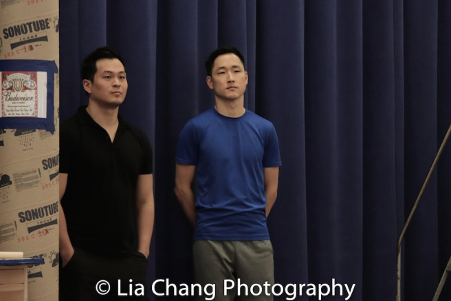Paul HeeSang Miller and Daniel May. Photo by Lia Chang