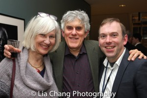 Stephanie Karpell, Mike Folie and Doug Reside, Curator, Billy Rose Theatre Division, New York Public Library for the Performing Arts, Dorothy and Lewis B. Cullman Center. Photo by Lia Chang