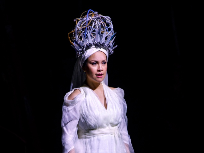 Lea Salonga as Erzulie in ONCE ON THIS ISLAND. Photo by Joan Marcus