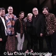 14- David Henry Hwang, Ed Sylvanus Iskandar, Cobina Gillitt, Rachel Cooper, Tangga Bhuana, N. Riantiarno. Photo by Lia Chang