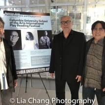 David Henry Hwang, N. Riantiarno and Corin Asmara. Photo by Lia Chang