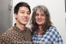 Julian Leong and Pam MacKinnon. Photo by Lia Chang