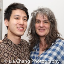 Julian Leong and Pam MacKinnon. Photo by Lia Chang