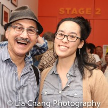 Ned Eisenberg and Lauren Yee. Photo by Lia Chang