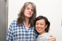 Pam MacKinnon and Ali Ahn. Photo by Lia Chang