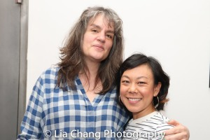Pam MacKinnon and Ali Ahn. Photo by Lia Chang