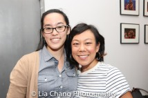 Lauren Yee and Ali Ahn. Photo by Lia Chang