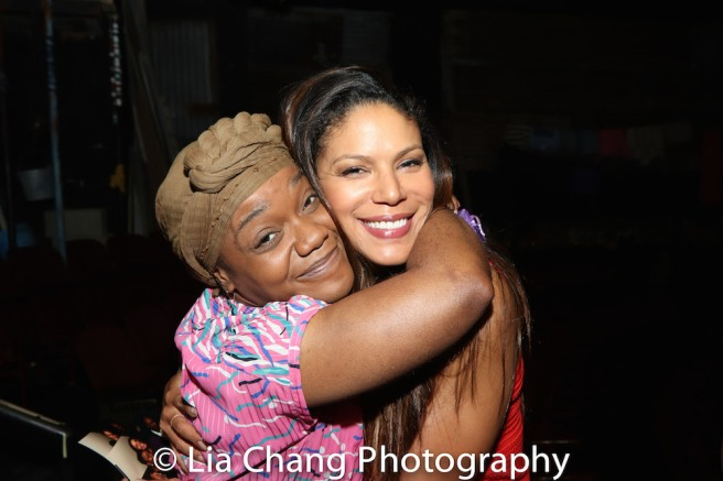 Kenita R. Miller and Merle Dandridge. Photo by Lia Chang